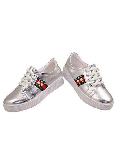 Kaptan Junior Ayakkabı Gümüş